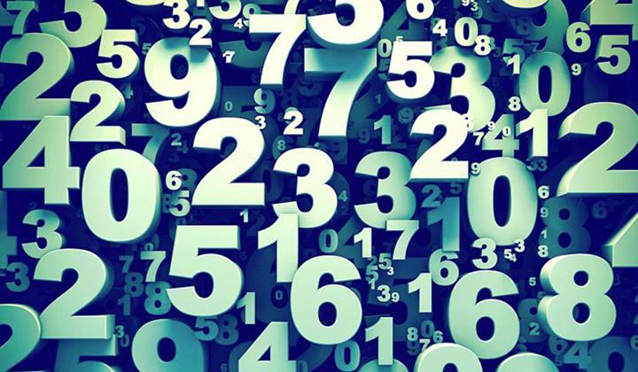 nos números de 1 a 9 estão todas as experiências que vivemos