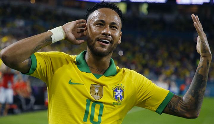 Craques do futebol Neymar Jr. - Aparecida Liberato